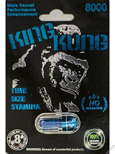 King Kung 8000 Male Sexual Performance Enhancement Pill 6 PK