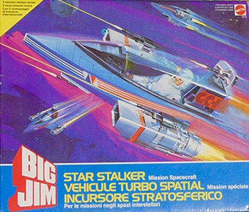 Vintage Big Jim Star Stalker Mission Spacecraft  - Rare