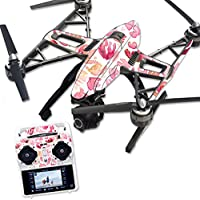 MightySkins Protective Vinyl Skin Decal for Yuneec Q500 & Q500+ Quadcopter Drone wrap cover sticker skins Pink Petals