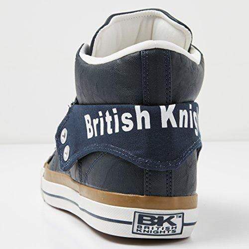 British Knights Damen Roco High-Top DUNKELBLAU/WEISS