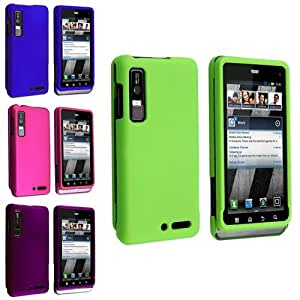 eForCity Hard Case Cover for Motorola Droid 3 XT862 - Retail Packaging - Multiple