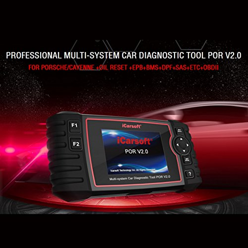 iCarsoft Auto Diagnostic Scanner POR V2.0 for Porsche with ABS Scan,Oil Service Reset ect by iCarsoft (Image #1)