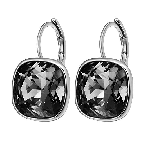 Xuping Halloween Fashion Crystals from Swarovski Huggies Hoop Earrings Thanksgiving Women Jewelry Black Friday Gifts (Halloween Earrings Wholesale)