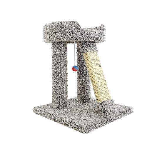 New Cat Condos Premier Elevated Cat Bed, Gray