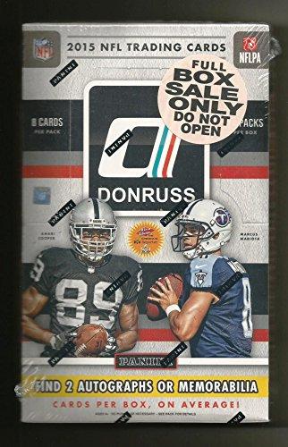 2015 Donruss Preferred Box of Football Trading Card Packs...
