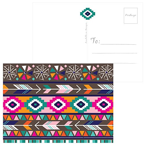 60 Postcards - Tribal Thank You - 6 Different Images Photo #2