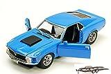 ModelToyCars 73303-MMT-BLUE-76001-BDL