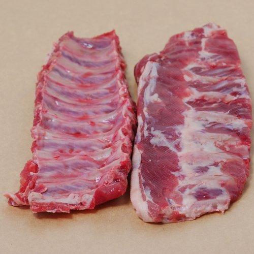 Wild Boar Baby Back Ribs - 5 lbs, 4 oz ribs