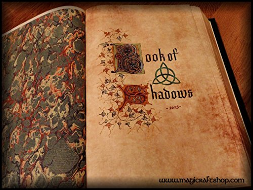Charmed Book of Shadows with ORIGINAL PAGES in english - Big size 31x22 cm by MagiCraftShop USA