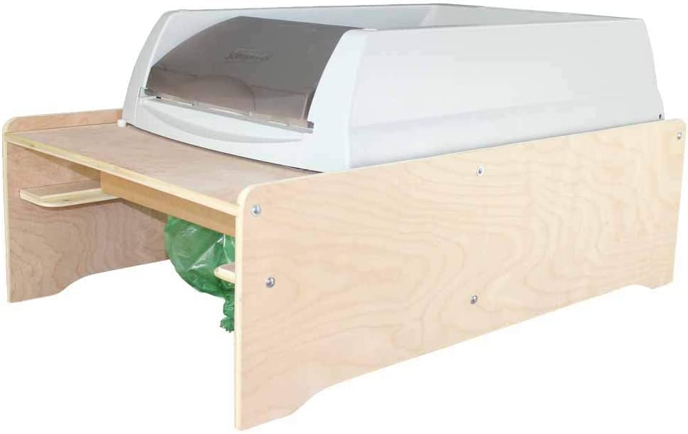 The Litter-Bagger for Scoopfree Litter Boxes. Replaces Disposable Crystal Litter Trays, Bags Litter Waste for You.