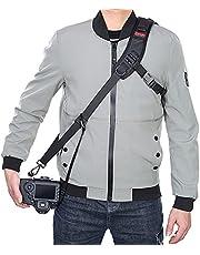 Camera Strap Rapid Fire Shoulder Neck Strap Sling Belt Quick Release and Safety Tether for DSLR SLR Camera