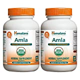 Himalaya Organic Amla/Amalaki, 60 Caplets for Natural Antioxidant 600mg (Pack of 2)