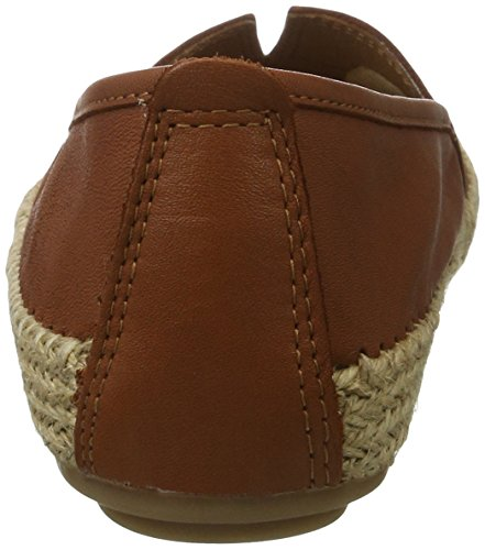 Jana Women's 24601 Espadrilles, Brown, 4 UK Brown (Cognac 305)