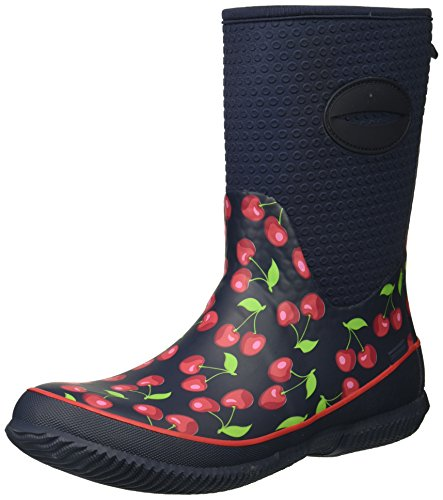 Foam Memory Neoprene Cherry Chief Cold with Western Boot Retro Rated Women's I0q81