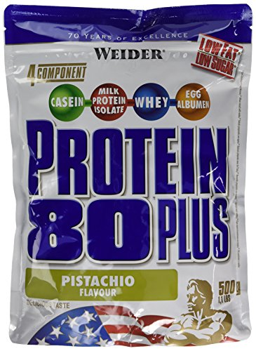 Weider 80 Plus Protein, Pistazie, 500g Beutel