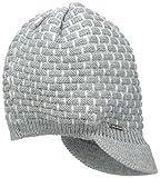 Calvin Klein Women's Brick Stitch Cabbie Hat, Heathered Mid Grey, One Size