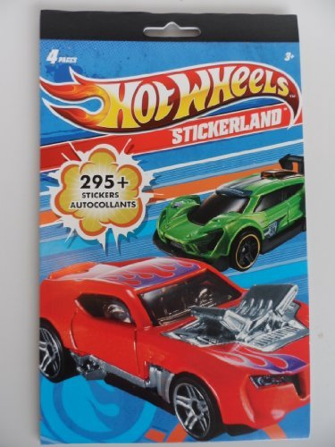 Sandylion Hot Wheels Stickerland (Cars Stickers Hot Wheels)