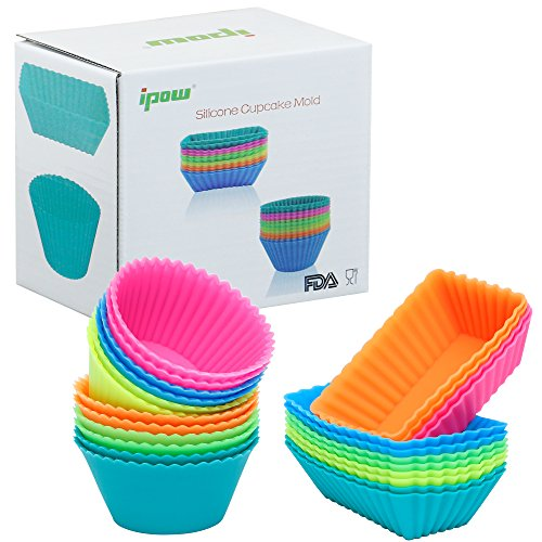 Ipow Thicken Silicone Cupcake