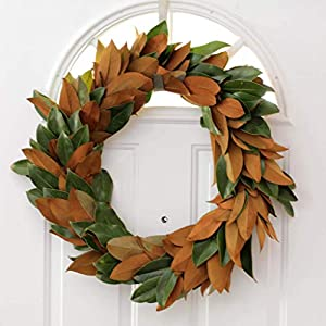 "Magnolia Wreath - 12"", 16"", 20"", 24"" (free shipping) 44"