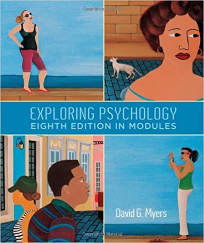 Psychology, by david g. Myers, 7th edition textbook outline.