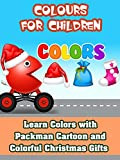 Learn Colors with Packman Cartoon and Colorful Christmas Gifts - Colurs for Children