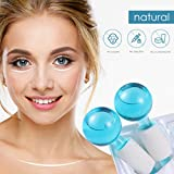 HEALLILY Ice Roller Globes Facial Roller Cold
