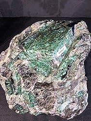 Emerald Natural Rough RAW Crystal Quartz
