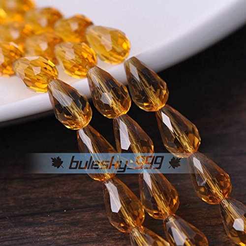 Amber Glass Spacers - 9
