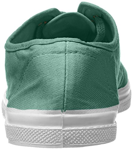 Tennis Bensimon para Mujer Vert Amande Lacets Zapatillas Verde dvvx1waqF