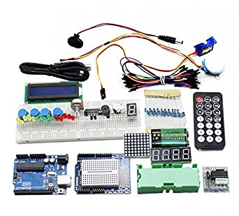 viare Starter Kit para Arduino UNO R3 Experimentación project-university Pack: Amazon.es: Amazon.es