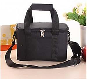 Canvas Bag Portable Ice Pack Insulation Bag Outdoor Camping Picnic Bag Environmental Protection Food Bag,A