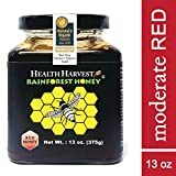 Tualang Red Honey 13 oz | Moderate Choice for Adult & Teenage Health Maintenance | Best Season Wild Harvested from Sumatra Tropical Rainforest | Raw, Unpasteurized, Unfiltered | Award-Winning