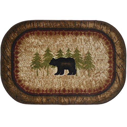 - Cozy Cabin CC5282 Birch Bear Non Skid Rug 30