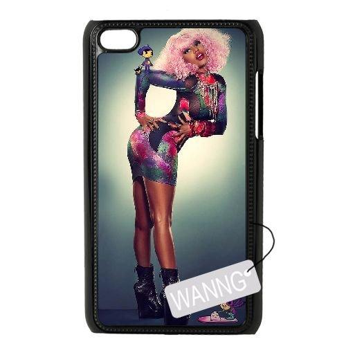 Nicki Minaj Ipod Touch4 DIY Case, Nicki Minaj Custom Case for Ipod Touch4 at WANNG