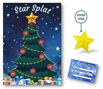 christmas family game star splat family kids children