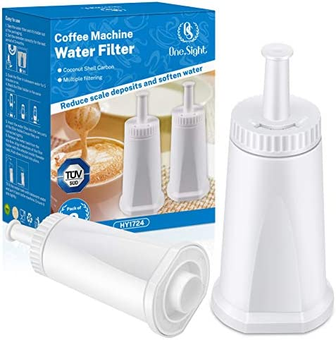 SES980 SES880 2pcs Water Filter for BES008 for SES810 SES990 Accessories Water Filter Coffee Machine Water Filters Barista Express Cartridge SES920