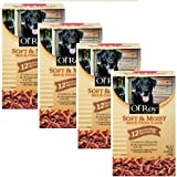 Ol' Roy Soft & Moist Beef & Cheese Flavor Dog Food 72 oz. Box, (12 individual pouches) by Ol' Roy (4 Box)