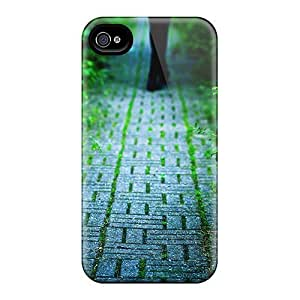 Cobblestone Alley Summer Awesome High Quality Iphone 4/4s Case Skin by Maris's Diary