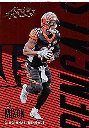 eb49e39ca Amazon.com  Football NFL 2018 Panini Absolute  21 Joe Mixon  21 NM+ ...