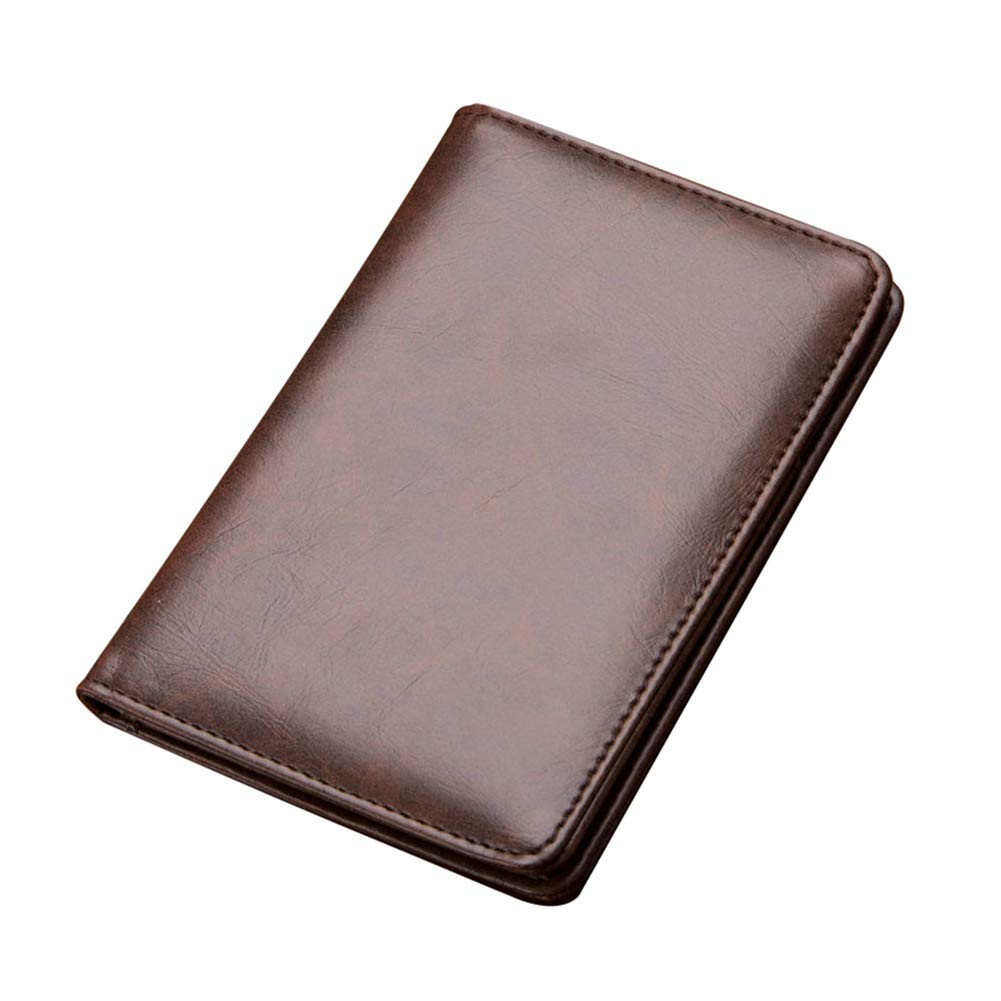 Infgreate Stylish And Practical Purse Mens Business Faux Leather Money Clip Card Holder Slim Bifold Magic Wallet