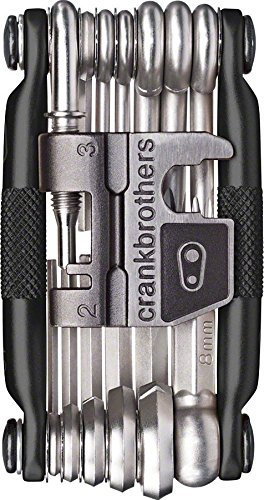Crankbrothers M19 Bicycle Multi-Tool - Steel Bike Tool, Torx, Hex and Chain Tool Compatible -