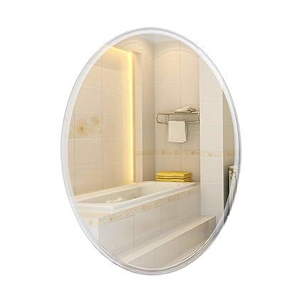 Amazon.com: Mirrors Oval Bathroom Wall Mount Bedroom Vanity ...