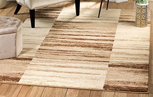Rio Summit 312 Beige Brown Area Rug Modern Geometric Many Sizes Available 5 x 7 .2 , 5 x 7 .2