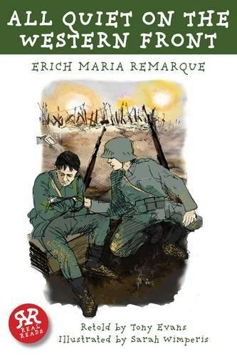 Book cover from All Quiet on the Western Front (World War I) by Erich Maria Remarque