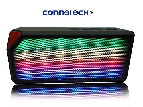 X3 Wireless Mini Bluetooth Speaker with LED Light (Black) - 1