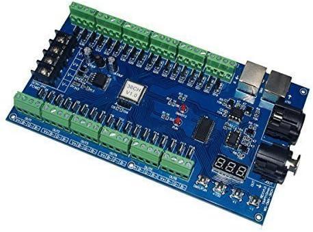 36CH Channel DMX512 Dimmer Controller DMX Decoder 12 Group RGB DC5V-24V