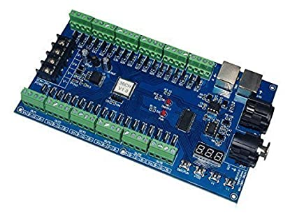 amazon com 36 channel 12 group dmx512 decoder controller 36ch rgb rh amazon com