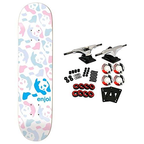 (Enjoi Skateboard Complete Repeater Pastel 8.125