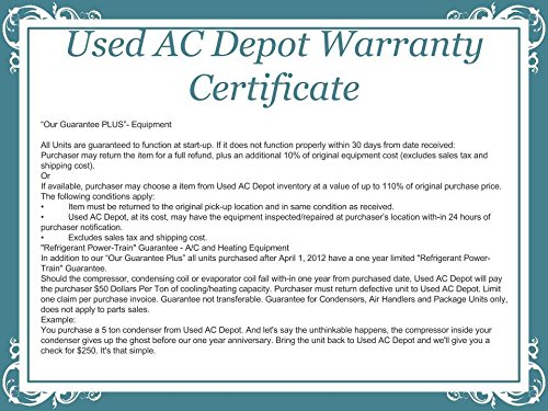 American Standard Quot Scratch Amp Dent Quot Central Air Conditioner