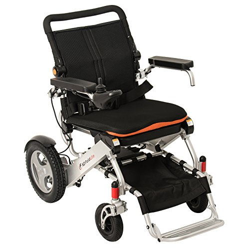Electric wheelchairs kamisco for Lightweight motorized folding wheelchair